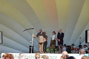 """Słowiński Park Narodowy na """" Biebrzańskich Sianokosach"""" 2013"""