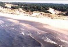 200 km - Coast. Sandbanks and lagoons